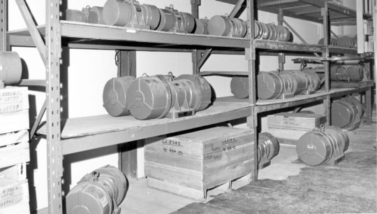 Industrial vibrator inventory in 198x