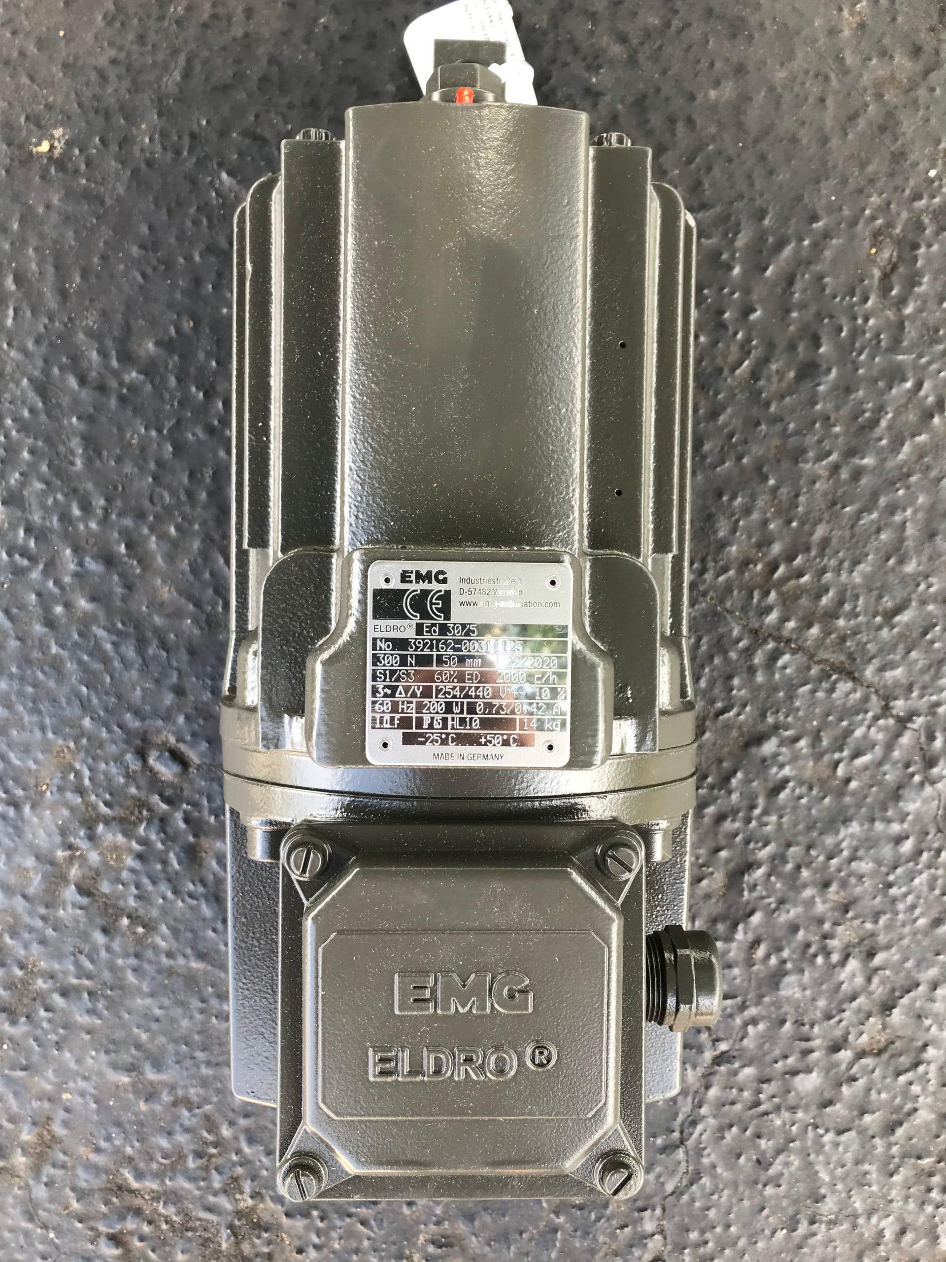 ED 30/5, EMG Eldro thruster, electrohydraulic thruster